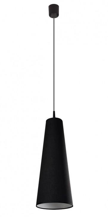 RAZZI suspension 1XE27 60W noir sans ampoule