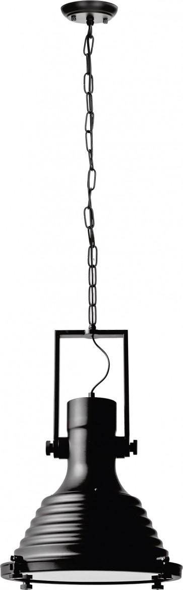 EXPIRIA suspension lustre chaine noire E27 60W maxi diam 40 haut 1m50