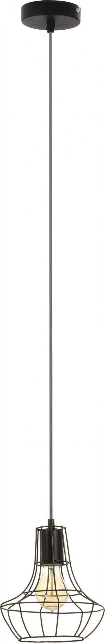 OUTLINE suspension 1XE27 60W noir diam 19cm