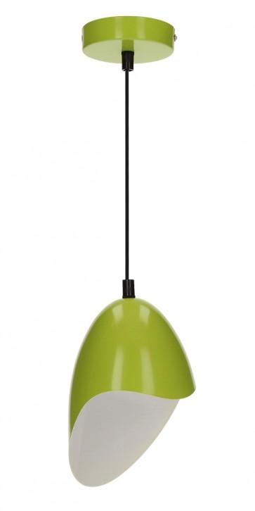 JENSEN suspension E27 60W métal vert diam 14.5cm