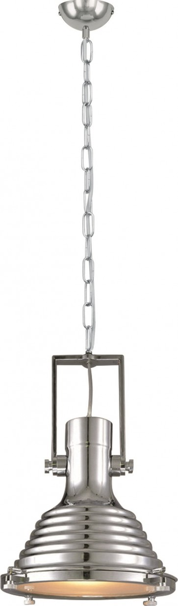 EXPIRIA suspension lustre chaine chrome E27 60W maxi diam 40 haut 1m50
