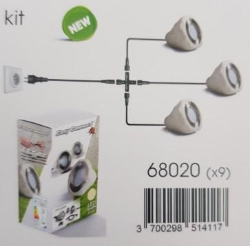 kit-3-spots-resine-pierre-exterieur-led-blanc-acier-brosse-ip65-stone-easyconnect-68020-kit