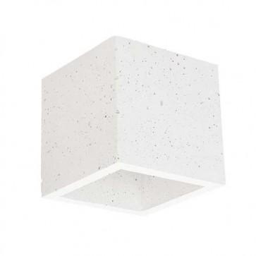 block- applique-béton-gris-clair-blanc-cube-11cm-g9-max-28w-1-lumiere-2255137-britop-coté-éteint