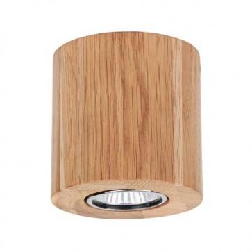 wooddream rond chene huile encastre plafonnier 2566174