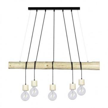 TRABO-PINO-5L-pin-naturel-douille-pin-naturel-Long-115cm