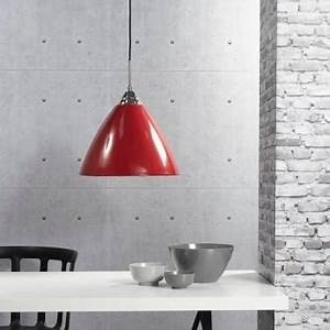 Suspension READ Diam 35cm E27 60W Rouge nordlux