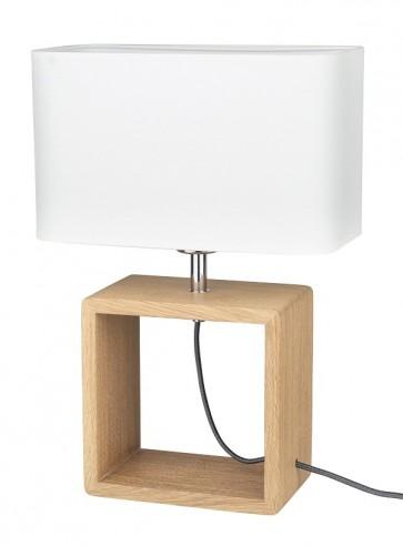 cadre-lampe-a-poser-haut-45cm-pied-chene-huile-abat-jour-textile-blanc-7702974-britop