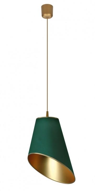 FOGLIE DI SOLE suspension diam 30cm E27 60W vert doré intérieur