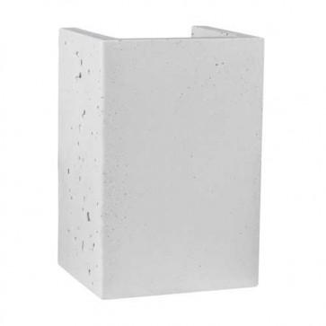 block-béton-gris-clair-gu10-2x6w-8973237
