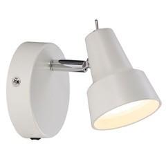 CONIC lampe Applique murale métal blanc