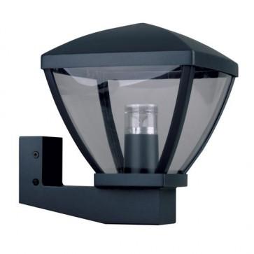 Applique montante extérieure Lisa LED intégrée 12 W noir