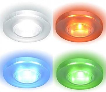 argon-spot-encastre-verre-rc-led-rgb-idual-je1295401-allumé