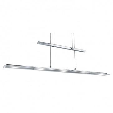 Barre suspendue 5 LED Hauteur ajustable 1165-5CC