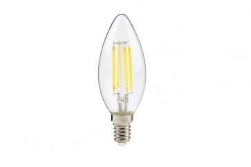 KLARA ampoule C35 filament led claire douille E14 400 lumens 4W