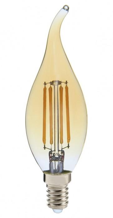 EDDY ampoule flamme C35A filament led ambré douille E14 350 lumens 4W