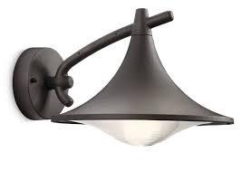 Applique lanterne descendante extérieure anthracite E27 15W  eco lampe incl CEDAR PHILIPS