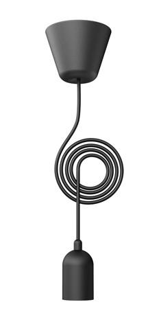 Cordon FUNK E27 Noir