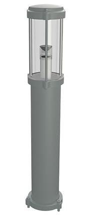 Borne Led extérieur DORA H60cm acier inoxydable