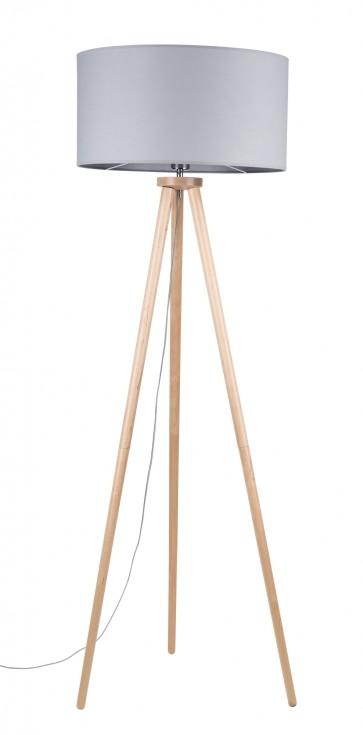 ennie-lampadaire-trepied-haut-160cm-bois-bouleau-abatjour-diam50cm-gris-74102060