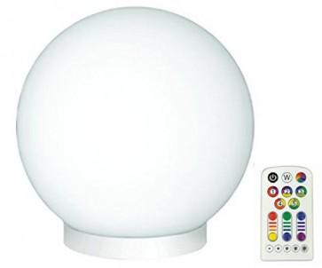 Lampe de table GLAM boule déco Led RGB + télécommande