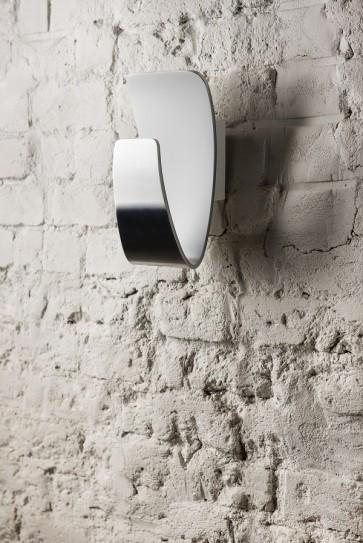 GONDOLA applique led 6w 300 lumens aluminium chrome blanc