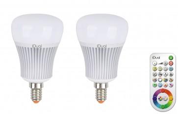 kit 2 Ampoules Led 11W iDual A E14 + rc