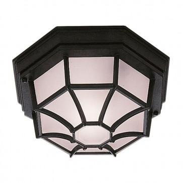 plafonnier-octogonale-noir-e27-100w-ip54-2942bk-5013874294036