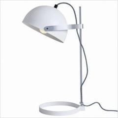GINGER lampe à poser acier Blanc