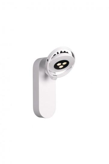 Patère ORBITS  Spot orientable LED 7,5 W Blanc 230 V Massive view