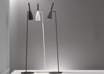 Lampadaire PURE H150cm GU10 blanc gris noir