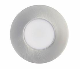 Spot Encastré fixe PRIMIA Led intégré 4.2W gris