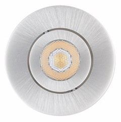 Spot Encastré Orientable Dimmable PRIMIA Led intégré 6W gris