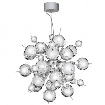 Lustre MOLECULE 12 led chrome 8312-12CC