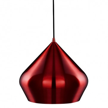 Lustre VIBRANT PYRAMID rouge8683RE