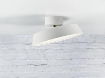 Plafonnier ALBA led 12w blanc Nordlux showroom