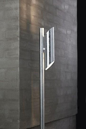 PIN Borne d'éclairage extérieur galva GU10 2x8w max garantie 15 ans contre la corrosion hauteur 1M