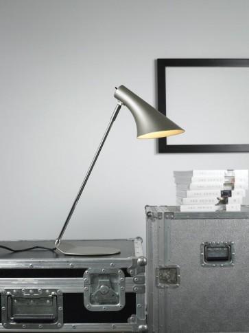 Lampe à poser VANILA Gris taupe E14 40W haut 45cm avec interrupteur nordlux