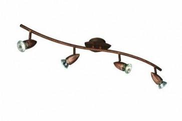 Plafonnier COMET 4 x 50W Bright Brun