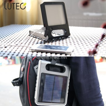 Lampe Pad orientable solaire lutec ambiance
