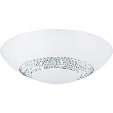 Plafonnier dome HALO Led blanc 4548-36WH