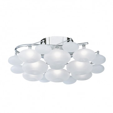 Plafonnier DULCIE 8 Led Chrome 8408-8CC