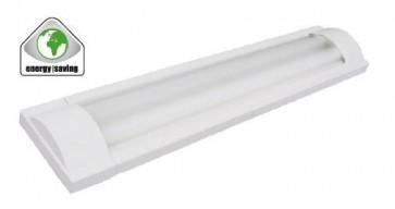 Réglette Fluo à économie d'énergie Starlicht OLYMPIA 2x 18W Blanc