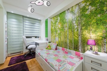 RUBBY barre de 2 spots GU10 50W maxi theme enfant lapin rose et blanc long 33.5cm