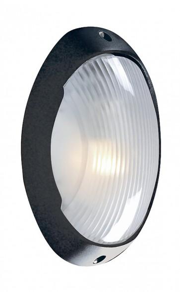 applique hublot phare 28cm noir