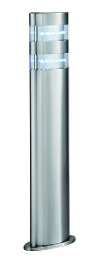borne-basse-exterieur-led-45cm-acier-brosse-ip44-5304-450-searchlight-5013874340450