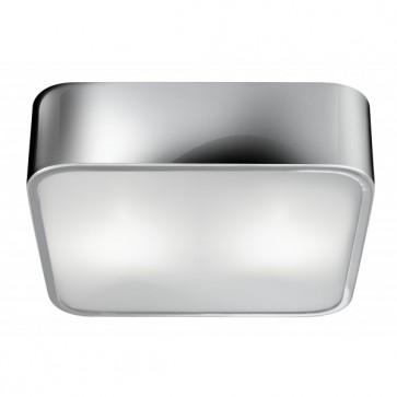 Plafonnier FLUSH Chrome/ verre 2 x 40W max searchlight