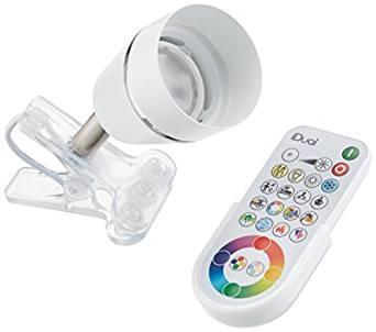 Spot Led IVORY CLIP RGB iDUAL+remote control