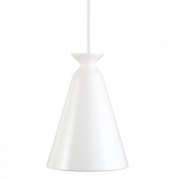 Suspension Céramique CURVE  blanc