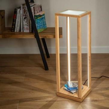 tavoli-glass-bois-chene-haut-61,5cm-8882974-allumé