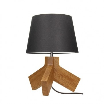 tilda-lampe-a-poser-e27-60w-bouleau-cordon-tissu-anthracite-abat-jour-anthracite-haut-43-5cm-6614170-britop